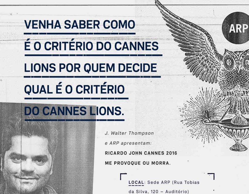 Presidente de júri em Cannes, Ricardo John fala ao mercado  gaúcho sobre como o entretenimento tomou conta da propaganda