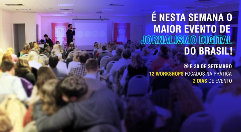Porto Alegre recebe maior evento de Jornalismo Digital do Brasil