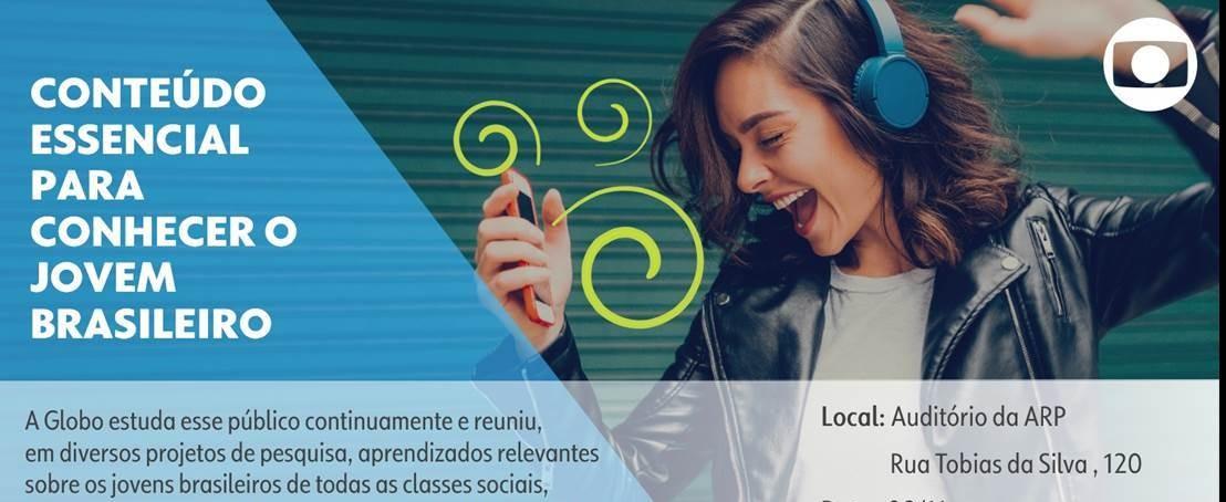Juventude é tema de palestra promovida pela Rede Globo em parceria com a ARP