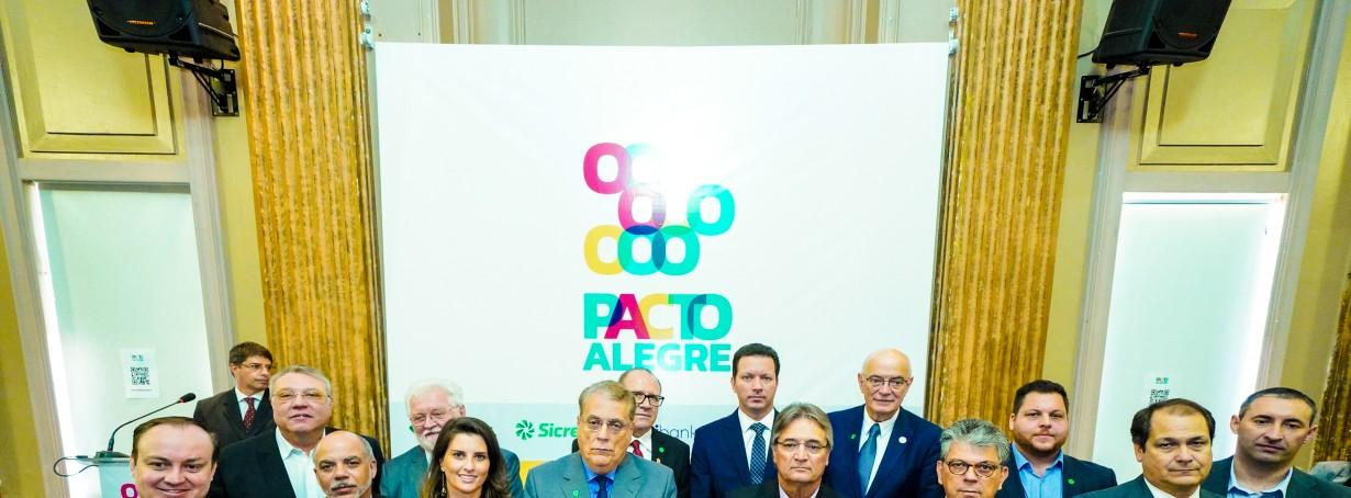 ARP firma compromisso com a capital gaúcha e apoia projeto Pacto Alegre