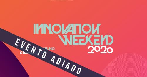 Innovation Weekend 2020 é adiada devido à pandemia do Covid-19