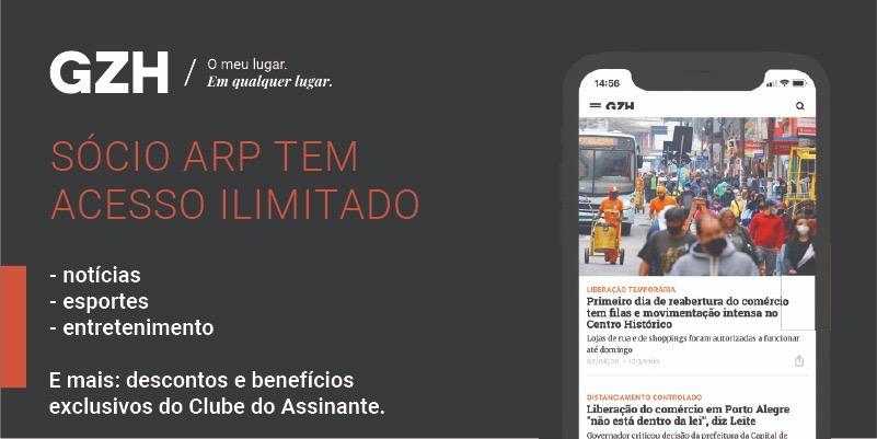 Sócios da ARP terão acesso à plataforma GZH e Clube do Assinante do Grupo RBS